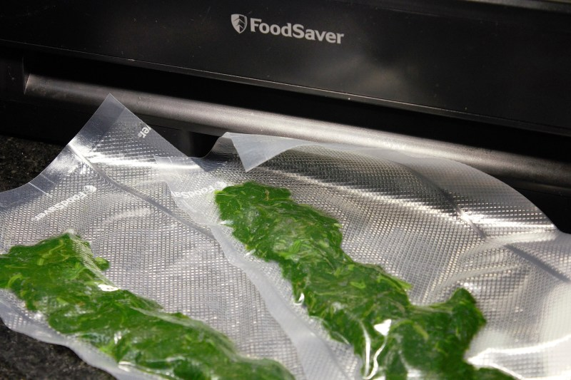 Freezing Spinach