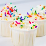 Birthday Cake Pudding Shots