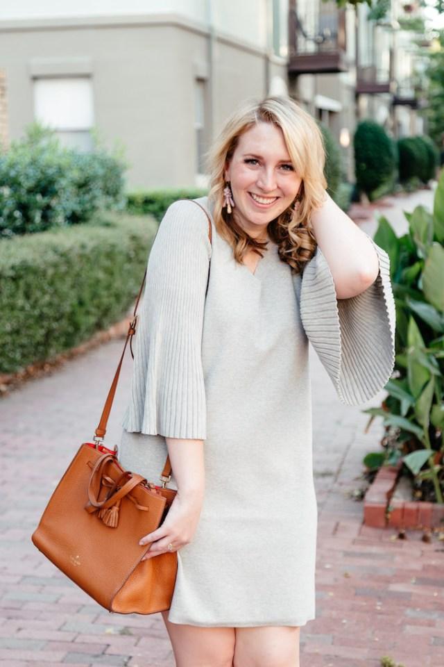 Pricing Sponsored Posts, V-Neck Sweater Dress