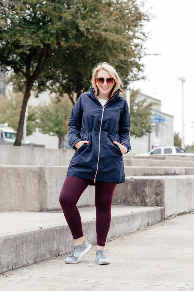 Athleta Navy Jacket