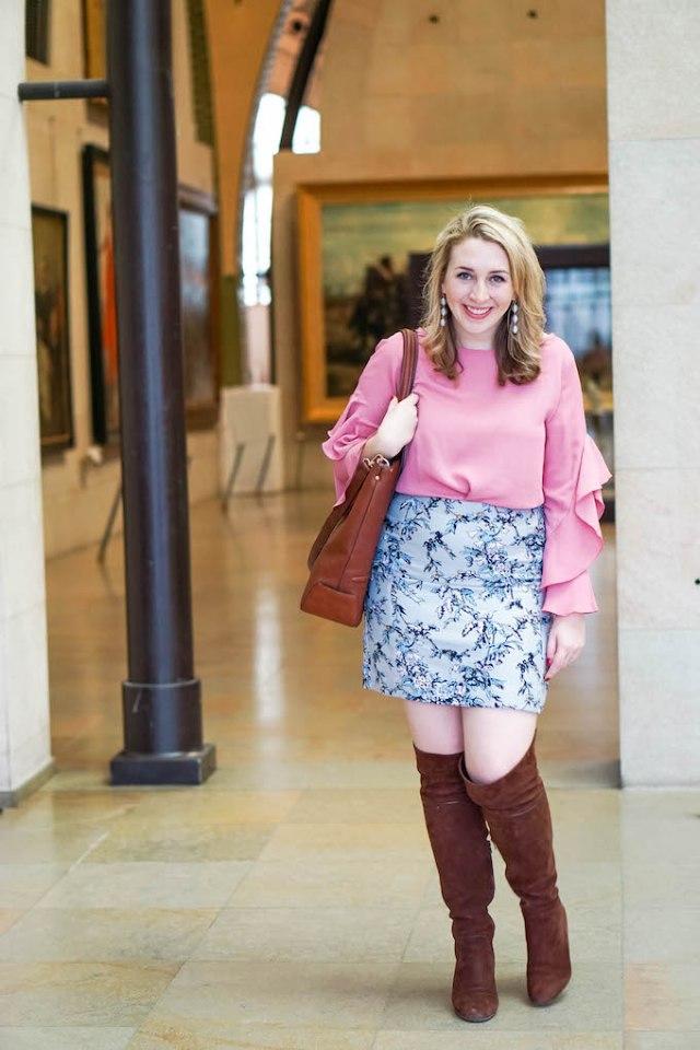 Ann Taylor Pink Blouse