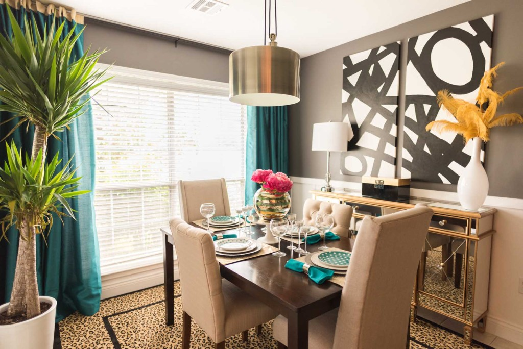 Breakfast Room Makeover - Glittered with Design