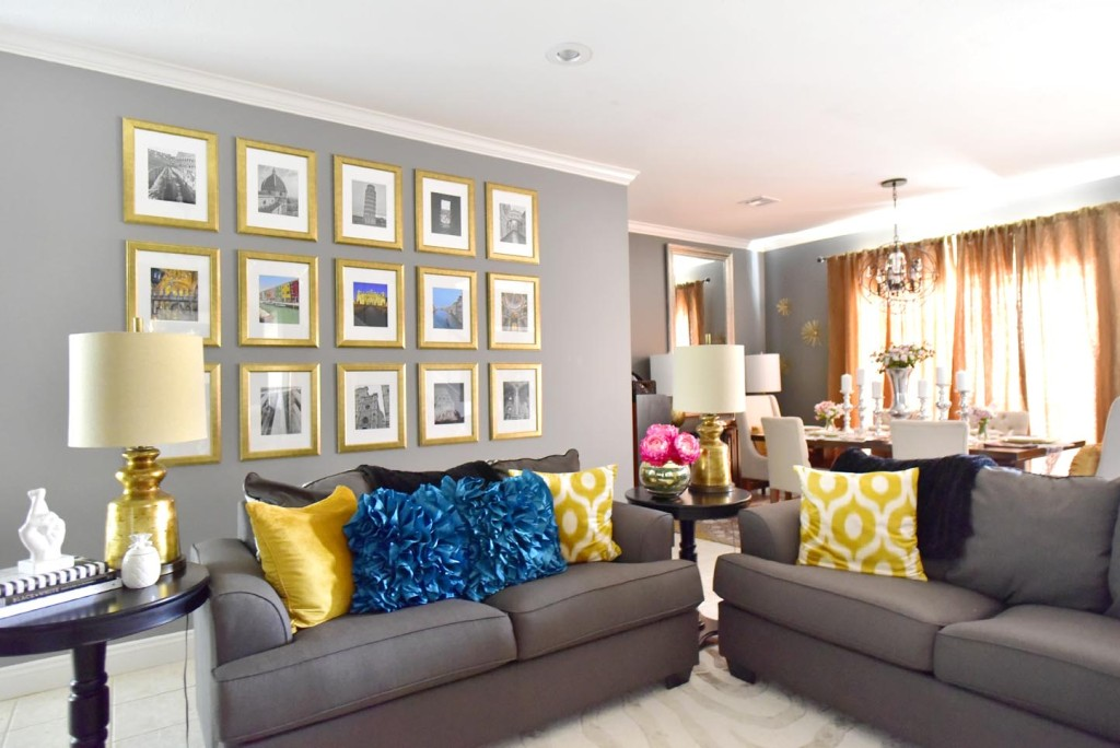 Glittered with Design Living Room