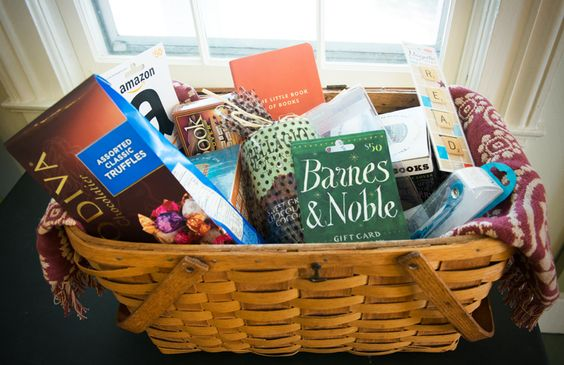 Book Gift Basket Idea