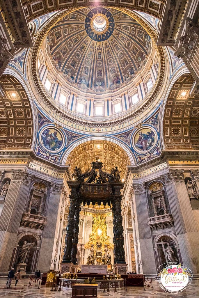 Vatican inside - Glittered with Design Blog - #glitteredwithdesign