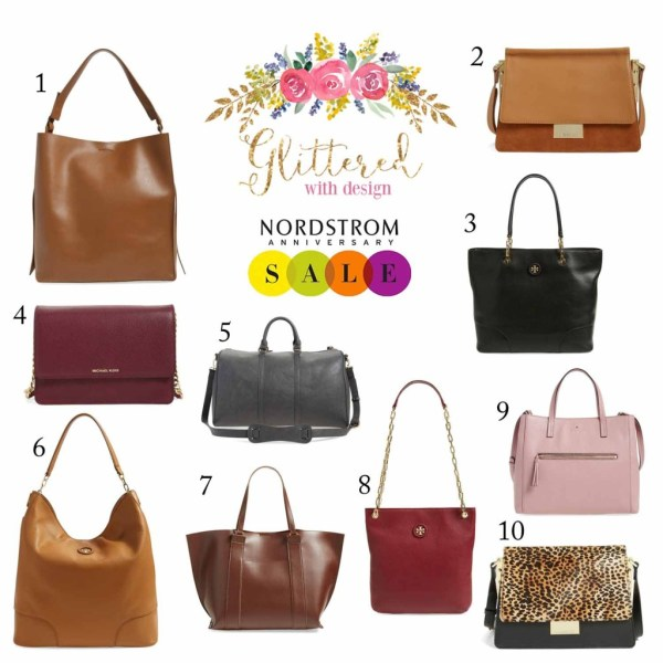 nordstrom sale handbags - Glittered with Design Blog