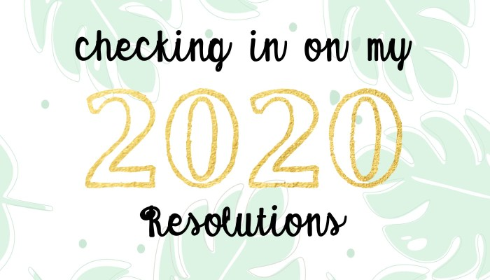 Mid-Year Resolutions Check-in