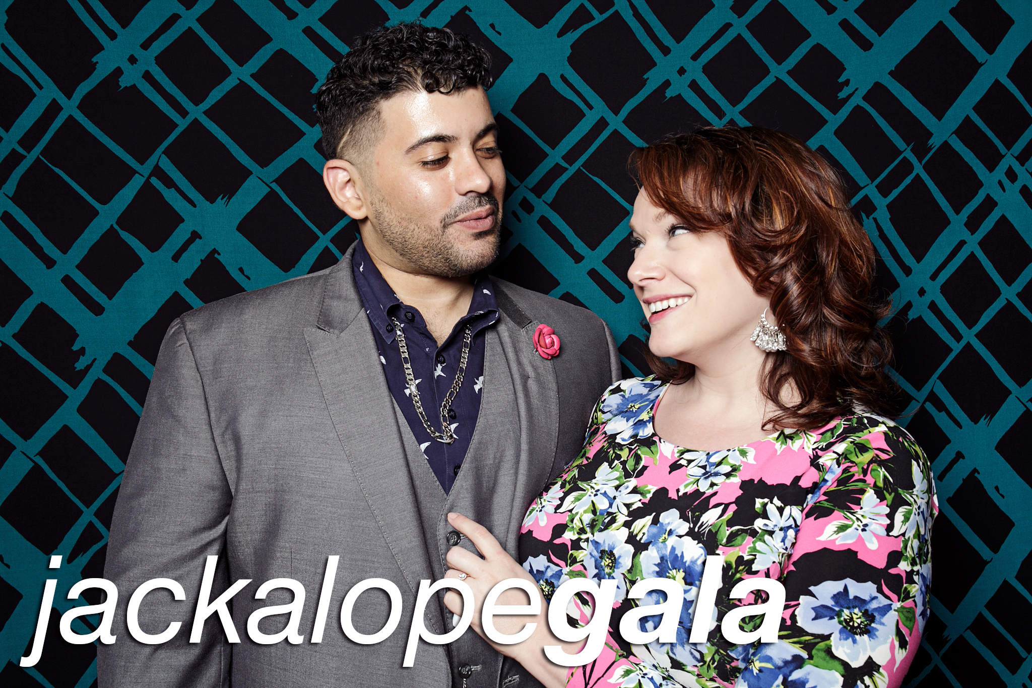 glitterguts portrait booth photos from jackalope theatre's 2019 gala in chicago