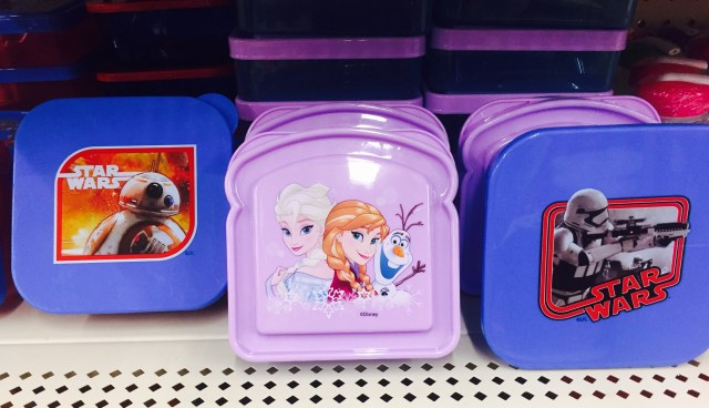 character lunch containers