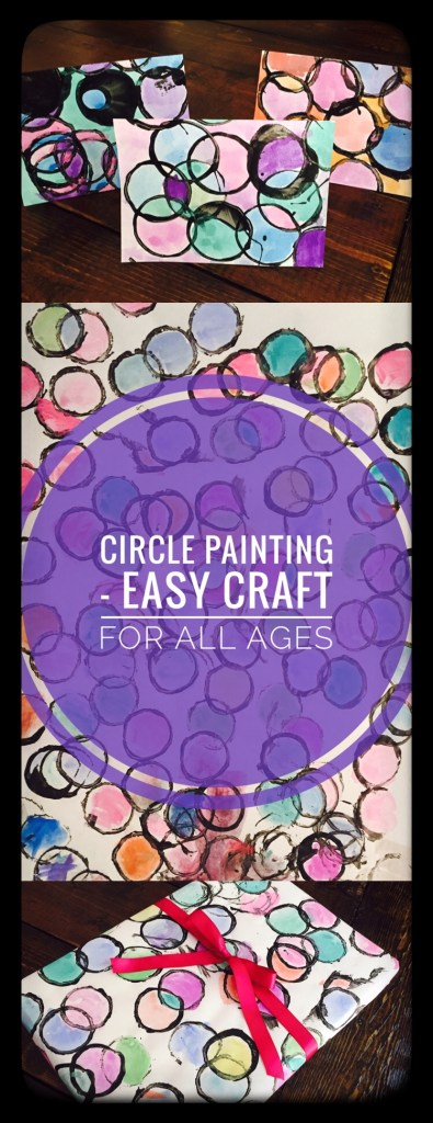 Circle Painting is a great craft for all ages!