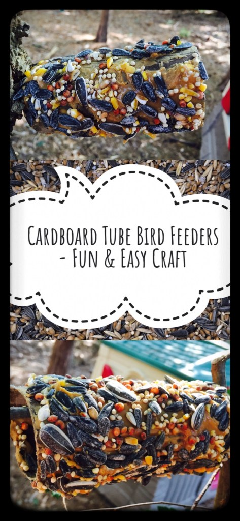 Easy & Fun Craft to do with kids using recycled material