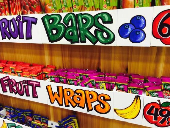 Fruit Wraps make a great school snack