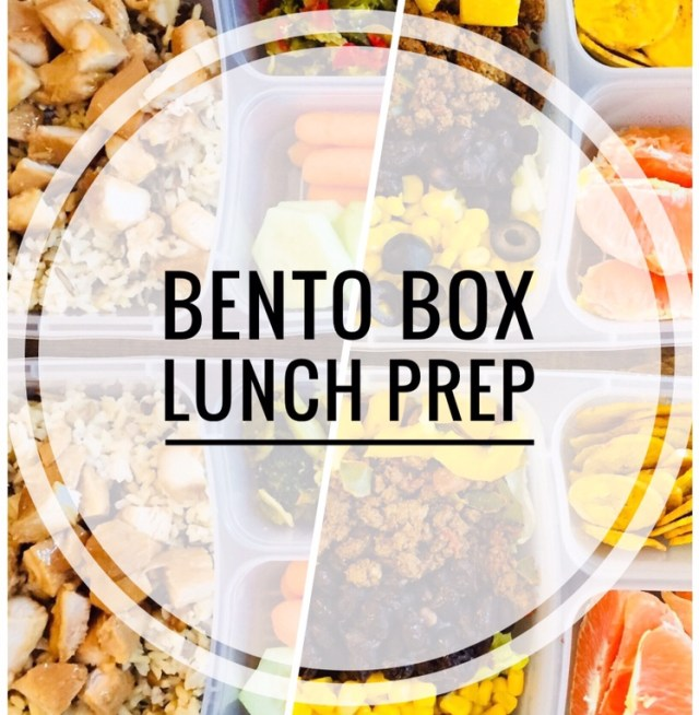 Bento Box Lunch Prep