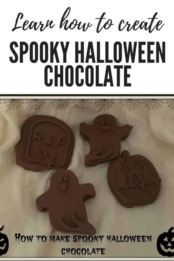 spooky halloween chocolate