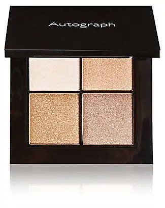 the ultimate gold eyeshadows that you need to add to your collection autograph colour luxe quad eyeshadow