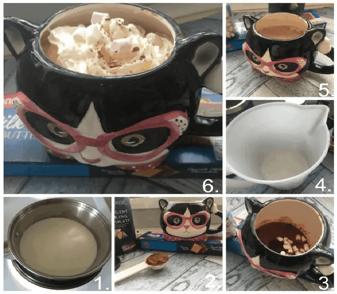 How to make the perfect hot chocolate for a cold winters day