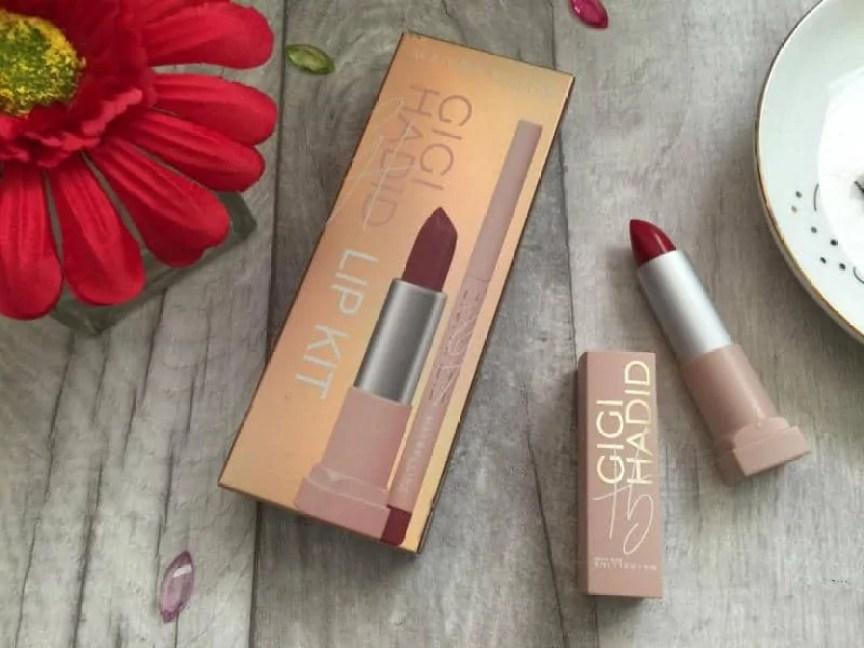 Get big full lips with Maybelline Gigi hadid Lani lip kit