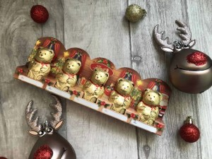 Last minute budget friendly Secret Santa gifts for her from B&M lindt lindor bears
