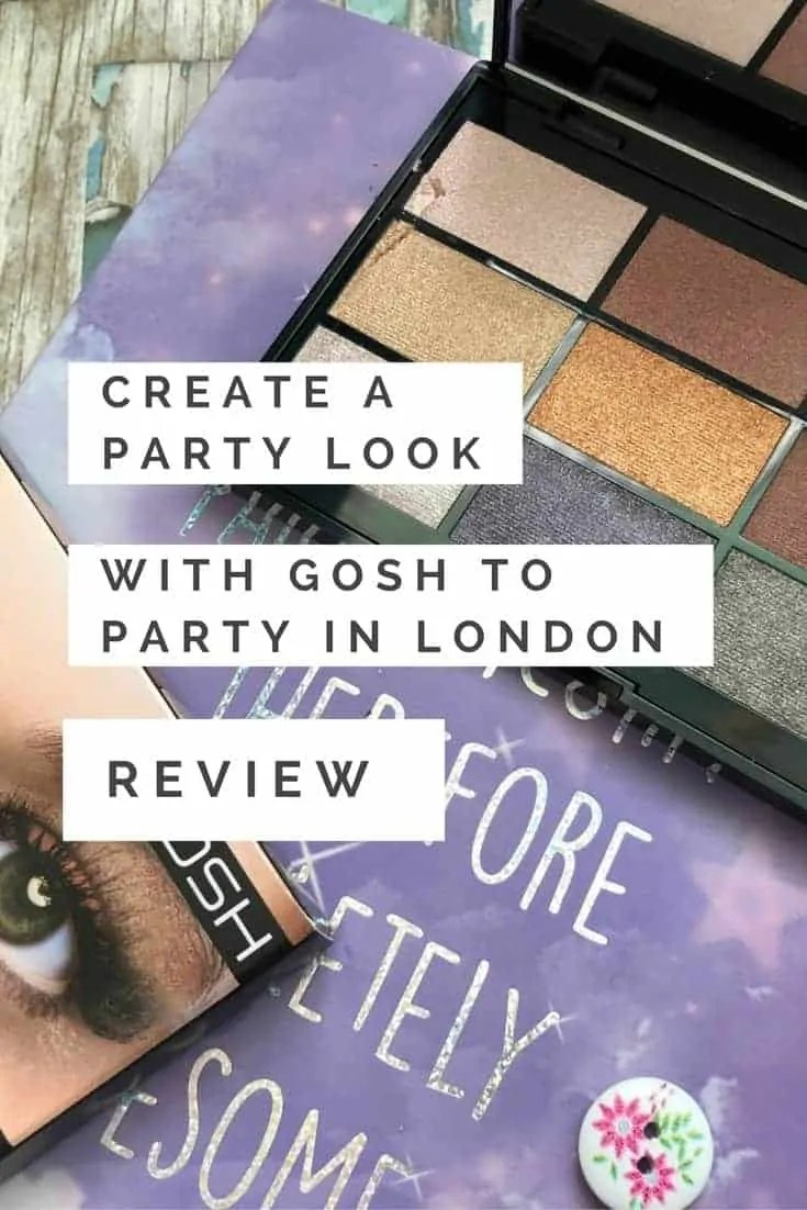 create a party look with gosh to party in london review