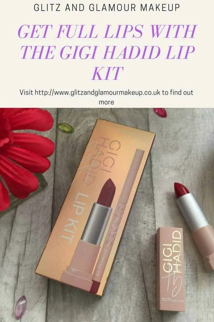 get full lips with gigi hadid lip kit