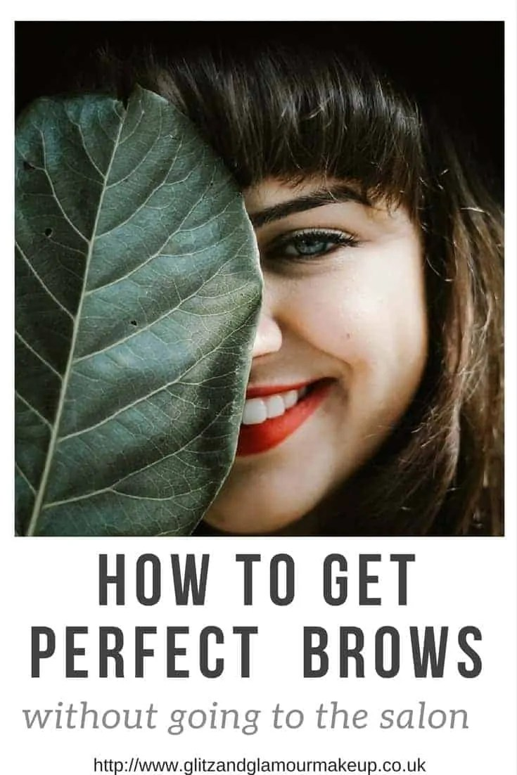 how to get perfect brows without going to the salon