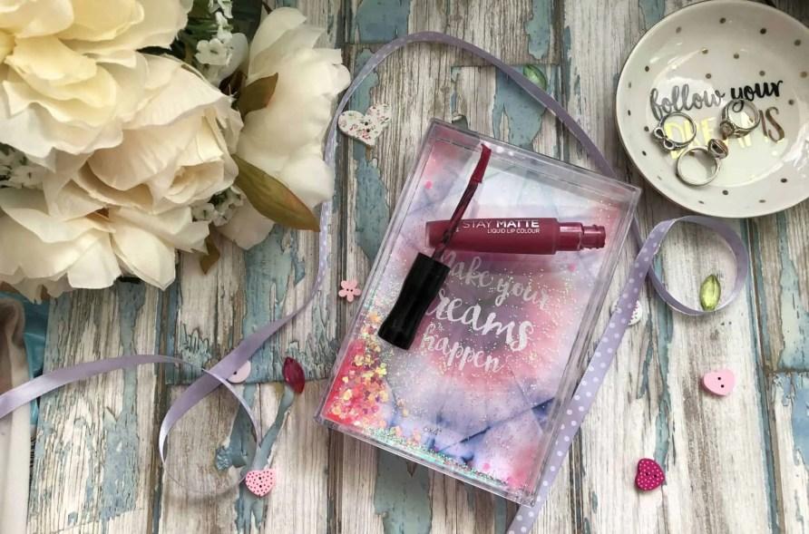 rimmel stay matte liquid lipstick in heartbeat review