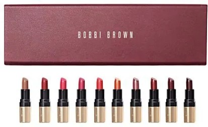 some of the best beauty gifts to spoil your loved one this year bobbi brown luxe classic mini lip set