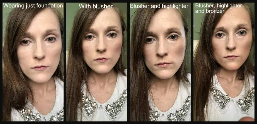 Gosh Contour n Strobe kit review before and after