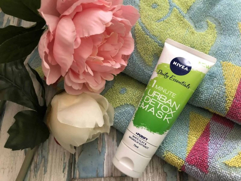 How my winter skincare routine can help with dry skin nivea 1 minute urban detox mask