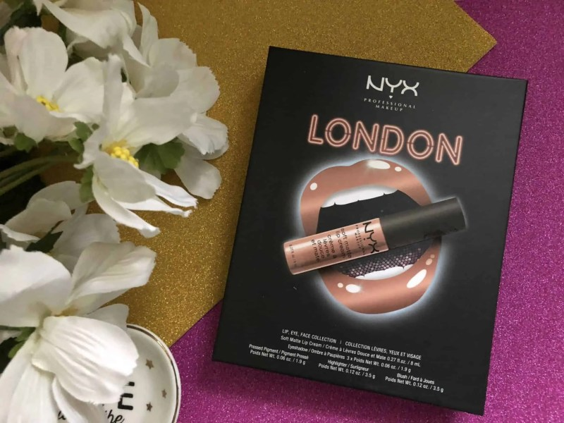 win nyx london city collection
