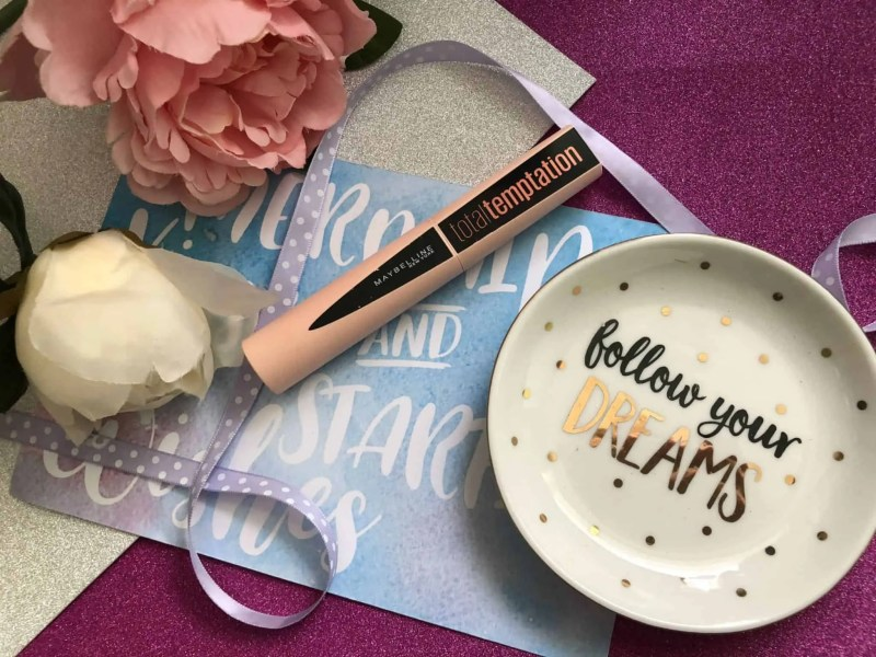 3 of my February beauty favourites maybelline total temptation mascara