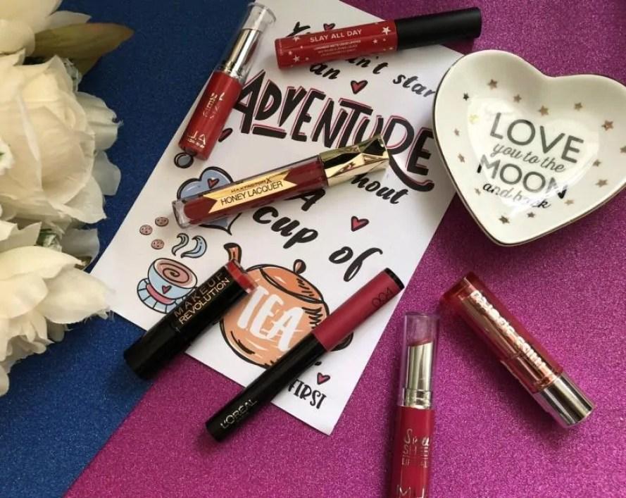 7 days of lipstick challenge