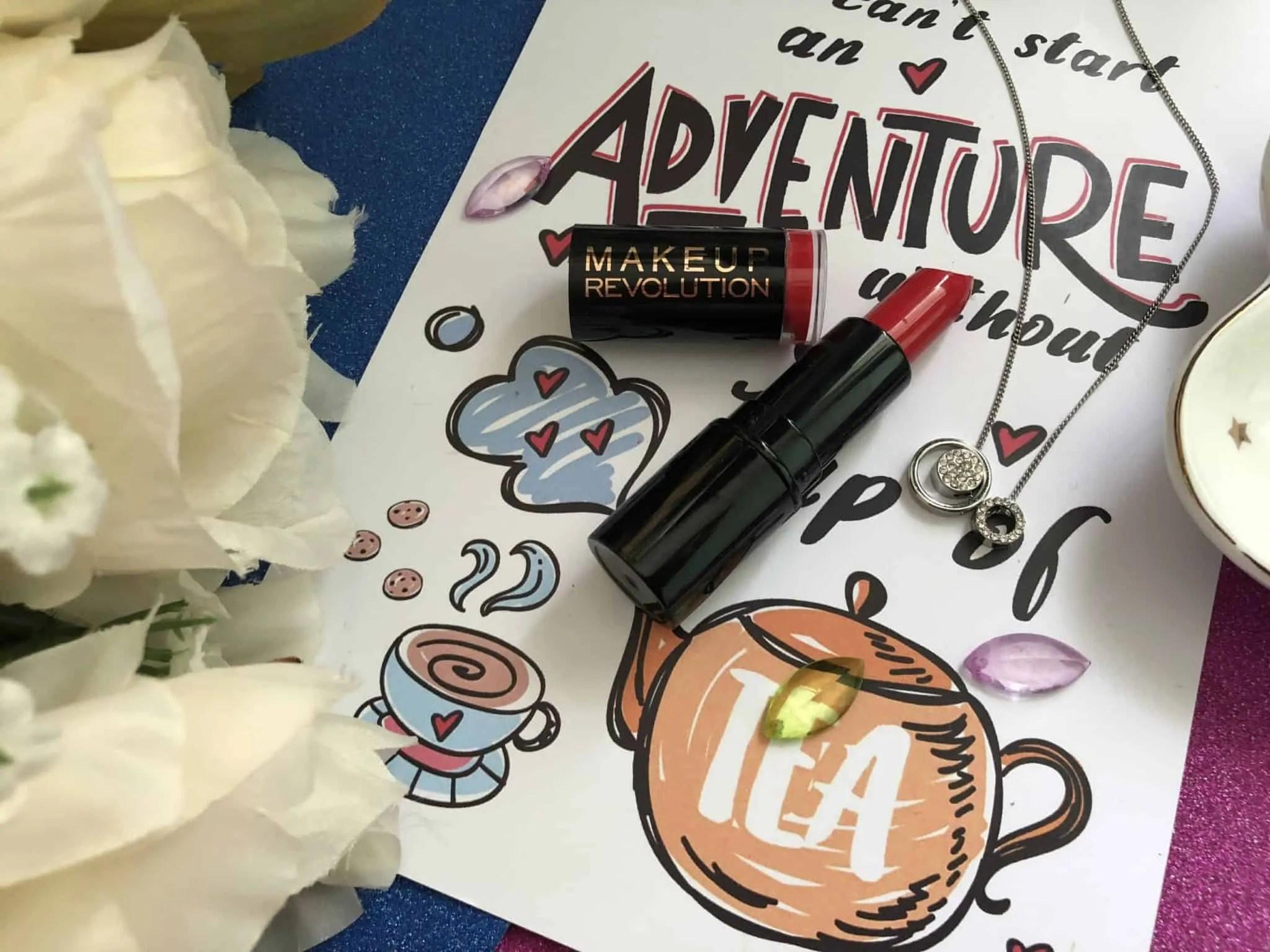 7 days of lipstick makeup revolution dare