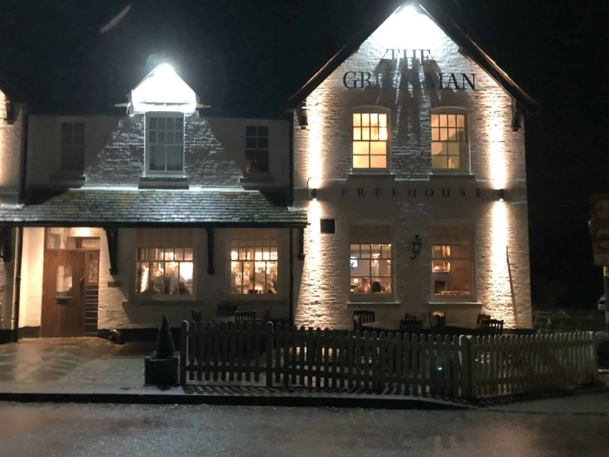 Experience a taste of the countryside at The Green Man, Longfield Kent