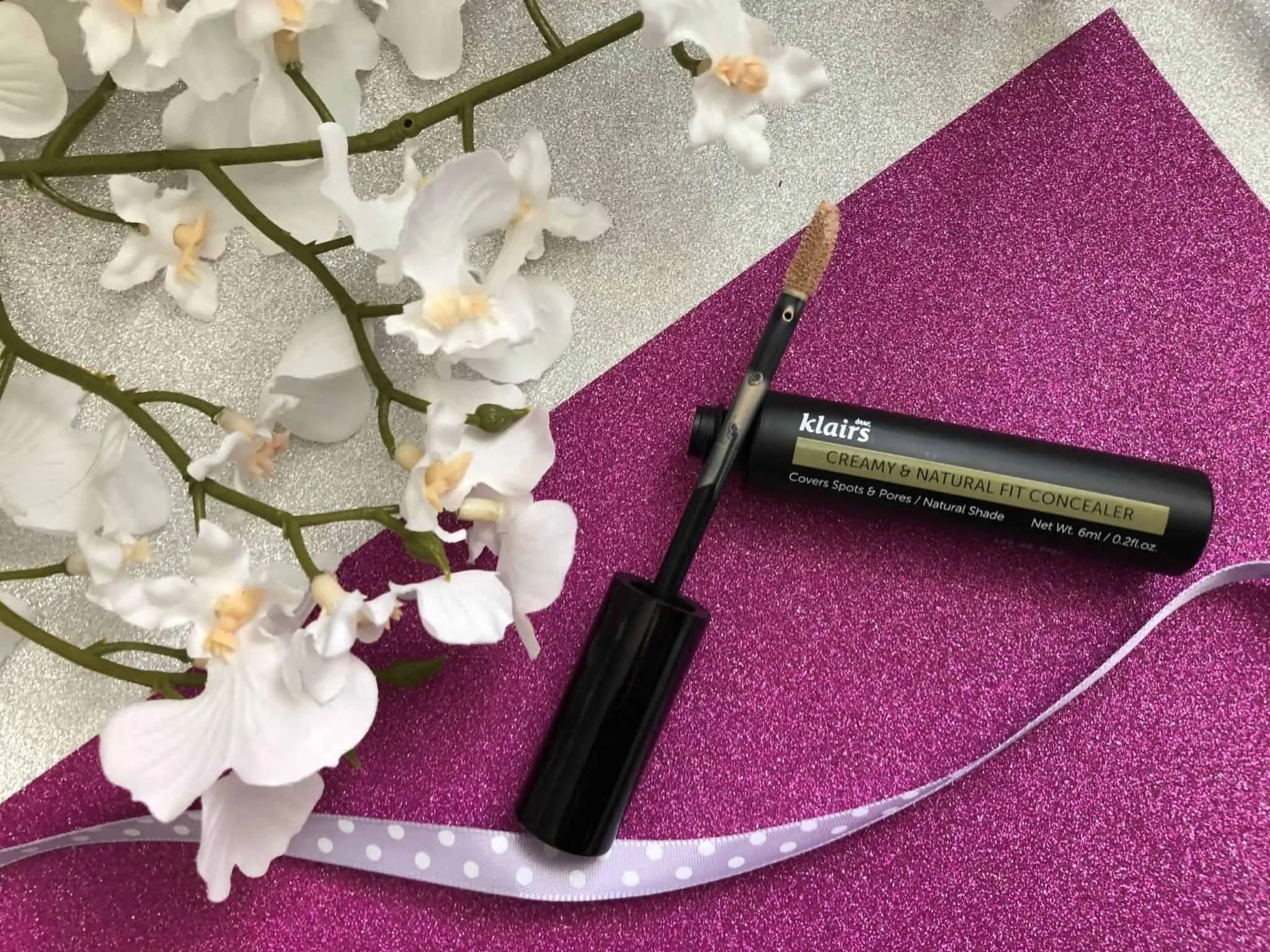 Testing Korean beauty Klairs concealer