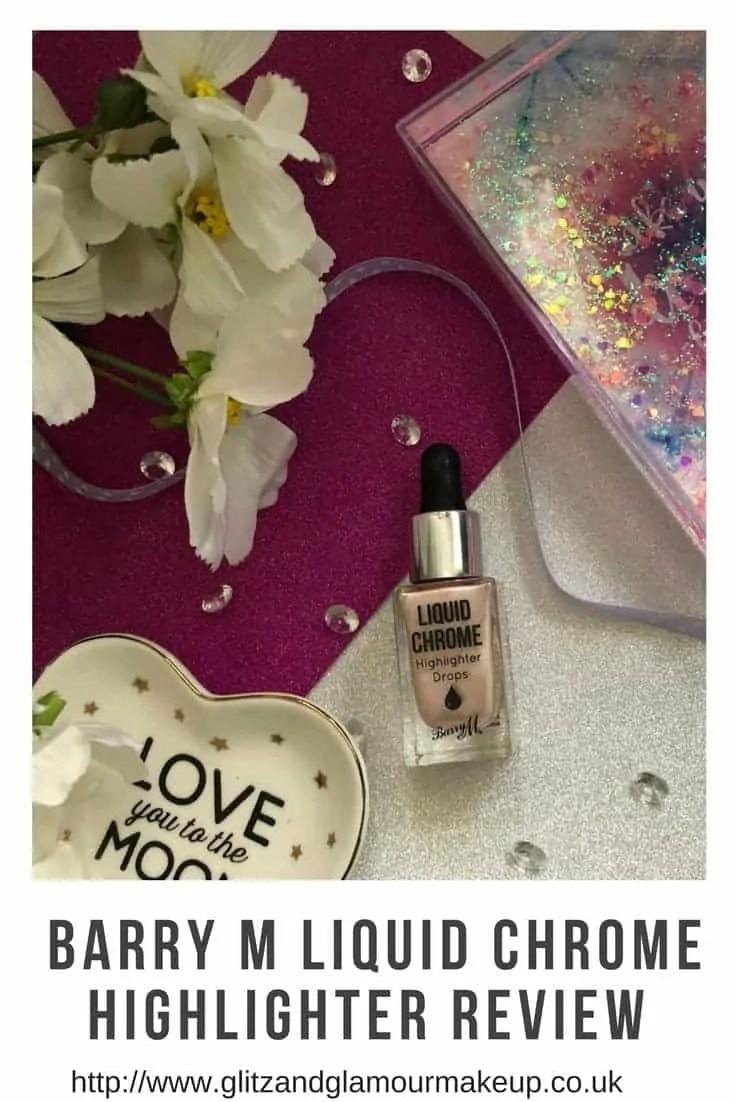 barry m liquid chrome highlighter review