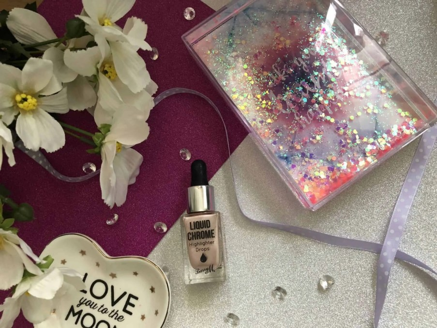 barry m liquid chrome highlighter review
