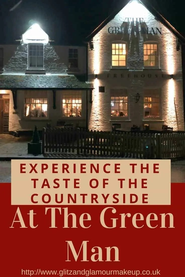 experience the taste of the countryside at the green man