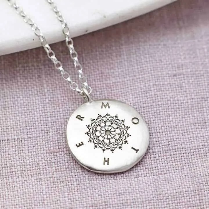 mothers day gift ideas jewellery and beauty sally clay personalised sterling silver mothers day necklace