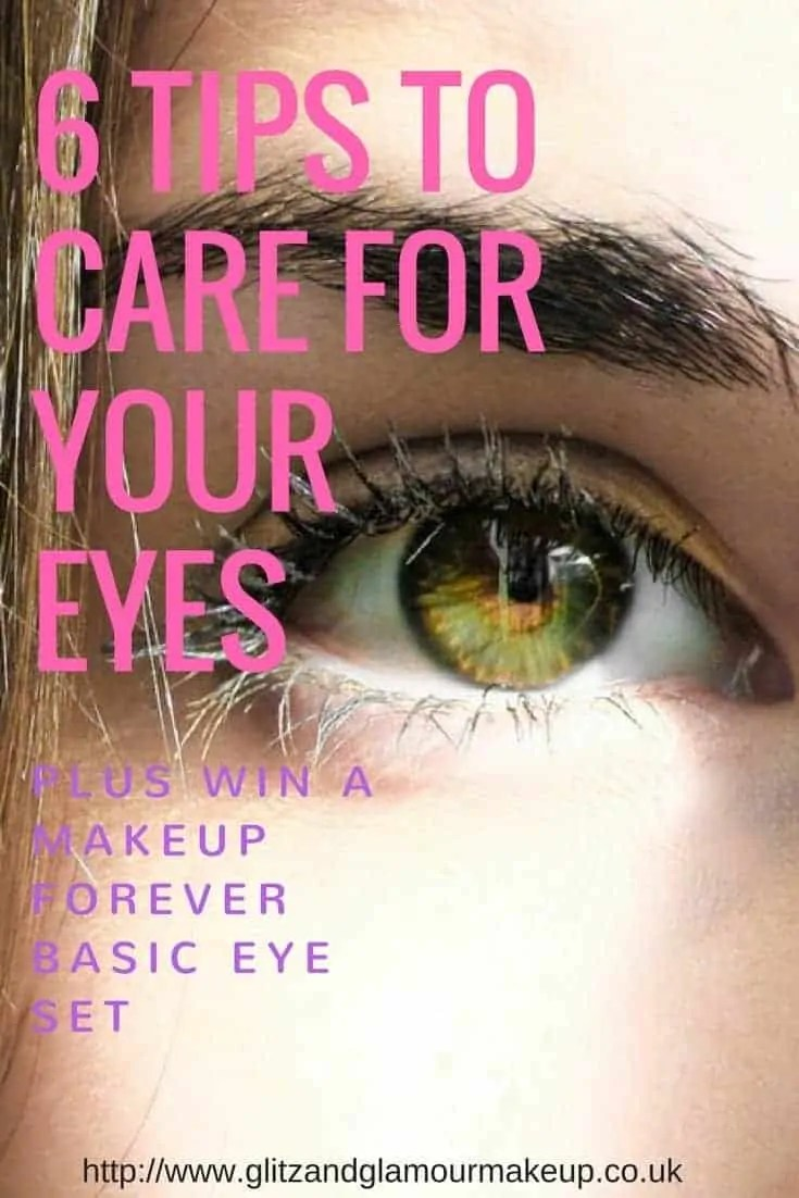 6 tips to care for your eyes and win a makeup forever basics eye set