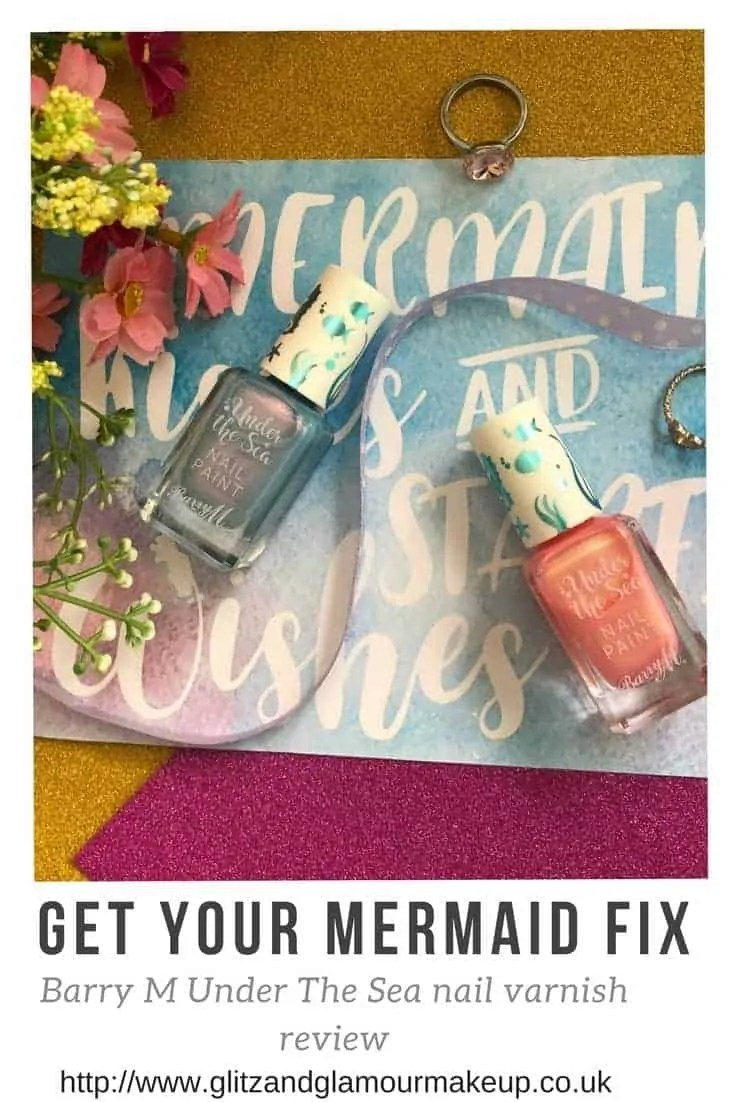barry m under the sea nail varnish review