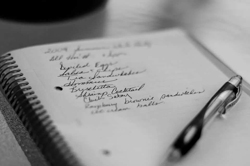 how to save money shopping shopping list