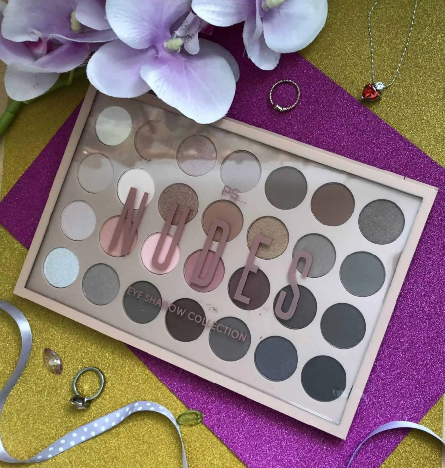 Beauty Products Primark: Primark Nudes Eyeshadow Palette Review