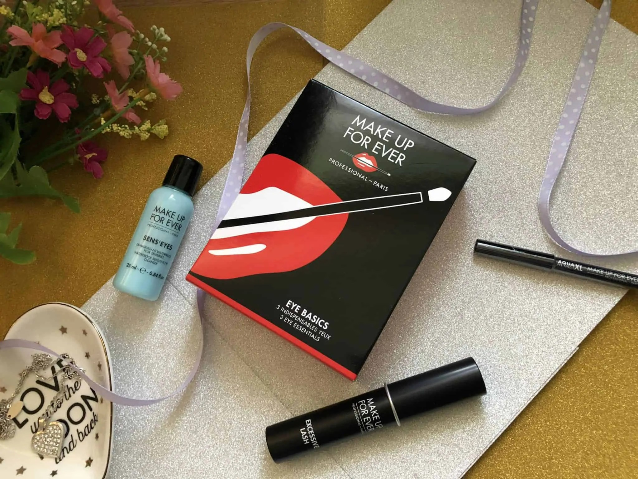 tips on how to care for your eyes and the chance to win a makeup forever eye basics set