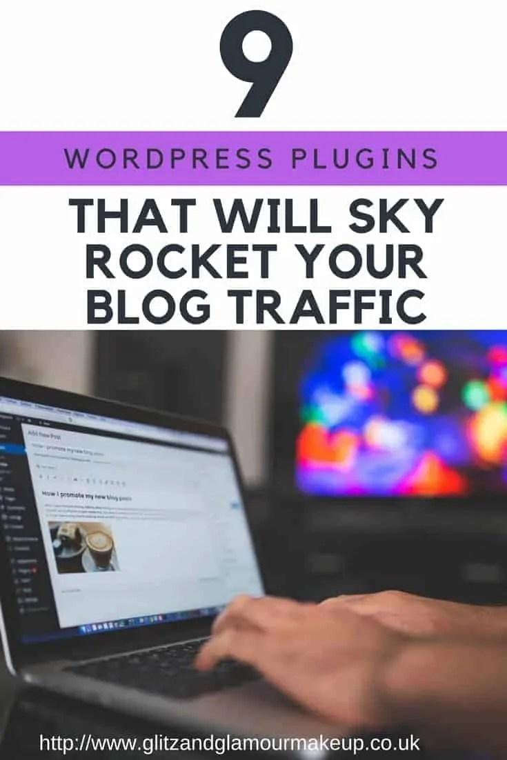 9 wordpress plugins that will sky rocket your blog traffic