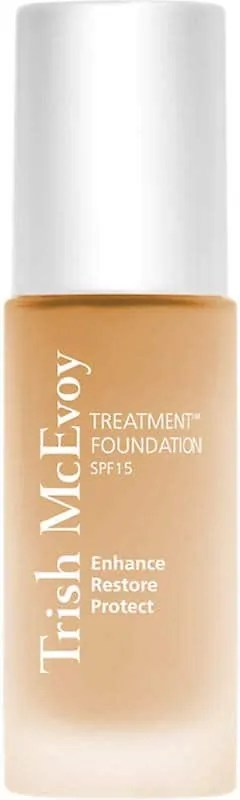 best beauty products to use when travelling trish mcevoy treatment foundation spf 15
