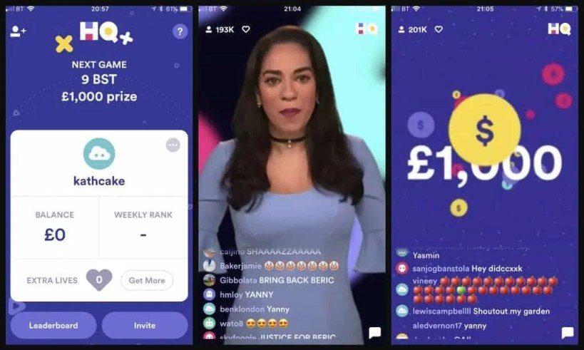 The free quiz apps that want you to win money hq