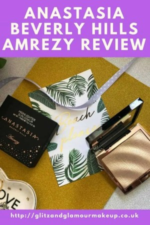 anastasia beverly hills amrezy highlighter review
