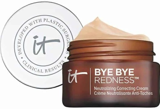 beauty 101 the best beauty products to treat four major skin concerns it cosmetics bye bye redness correcting cream