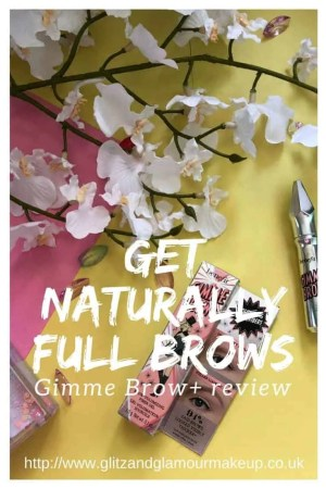 get naturally full brows with gimme brow+ review